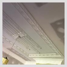 Ornate Ceiling repairs 30